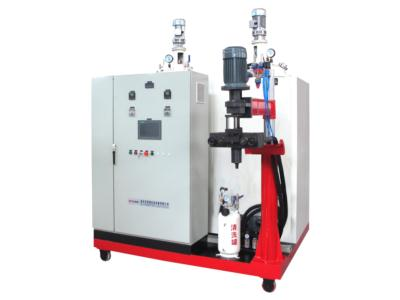 Polyurethane quantitative perfusion machine