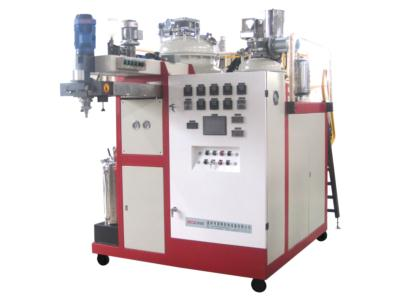 High Temperature Elastomer Casting Machine