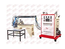 Three dimensional micro sealing strip casting machine