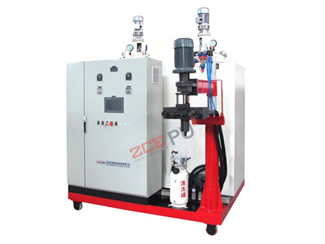 PU elastomer middle temperature casting machine