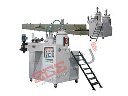 PU wheel elastomer casting machine