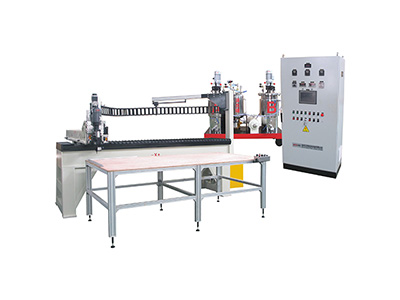Automatic PU sealing strip casting machine